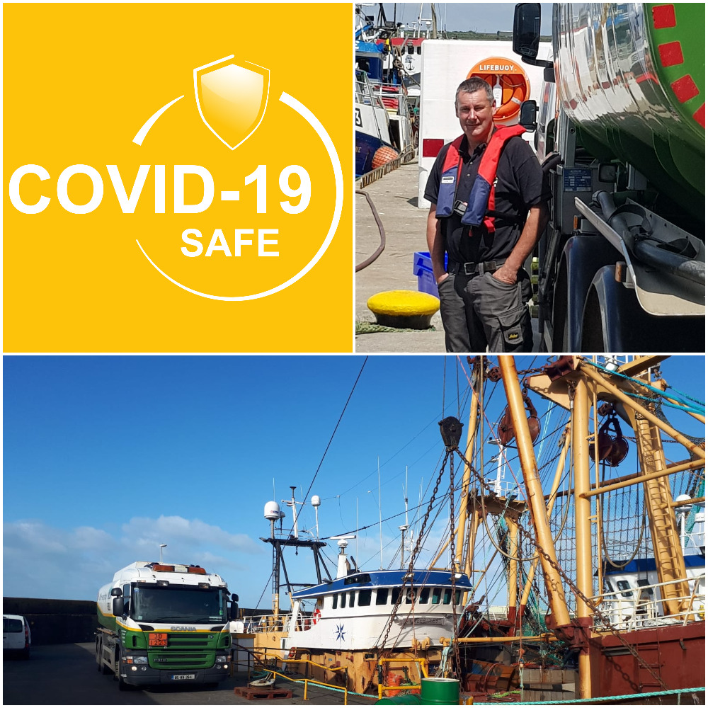 Covid-19 Safe Contactless Bunkering in Ireland